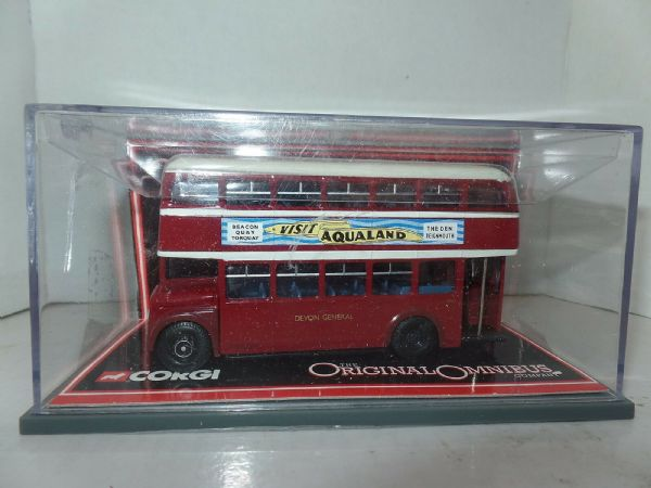 Corgi OOC 41003 AEC Regent V MCW Orion Bus Devon General MIMB